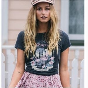 Spell NWT Flamingo Graphic The Dream Makers Tee